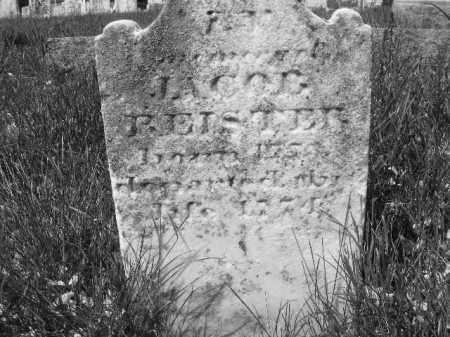 REISTER, JACOB - Baltimore County, Maryland | JACOB REISTER - Maryland Gravestone Photos