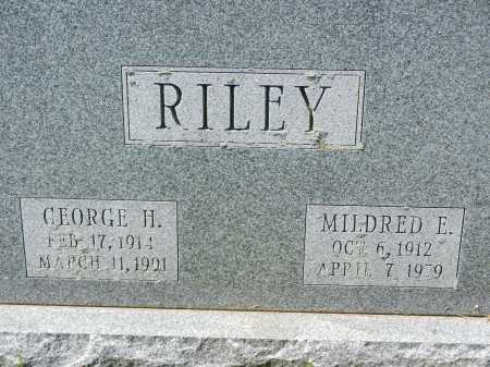 RILEY, GEORGE H. - Baltimore County, Maryland | GEORGE H. RILEY - Maryland Gravestone Photos