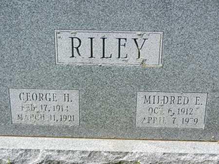 RILEY, MILDRED E. - Baltimore County, Maryland | MILDRED E. RILEY - Maryland Gravestone Photos