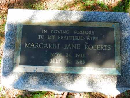 ROBERTS, MARGARET JANE - Baltimore County, Maryland   MARGARET JANE ROBERTS - Maryland Gravestone Photos