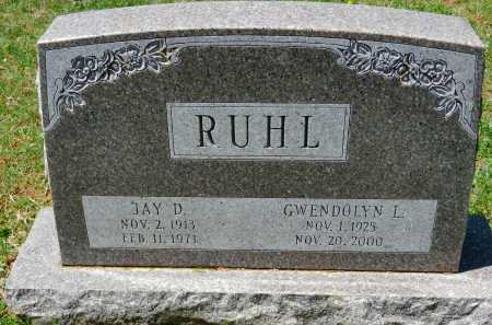 RUHL, JAY D. - Baltimore County, Maryland | JAY D. RUHL - Maryland Gravestone Photos