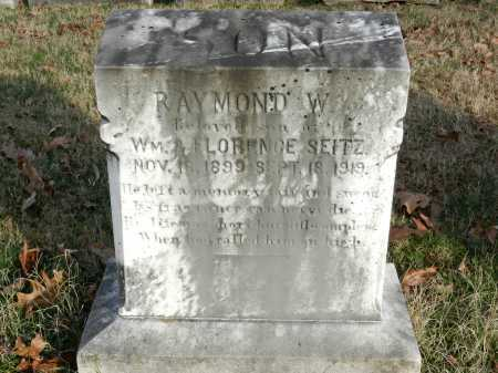 SEITZ, RAYMOND W - Baltimore County, Maryland | RAYMOND W SEITZ - Maryland Gravestone Photos