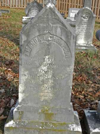 THOMPSON SHANEBROOK, AMANDA L - Baltimore County, Maryland | AMANDA L THOMPSON SHANEBROOK - Maryland Gravestone Photos
