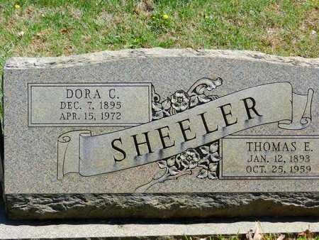 SHEELER, DORA C. - Baltimore County, Maryland | DORA C. SHEELER - Maryland Gravestone Photos