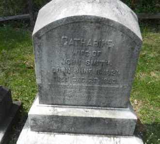 SMITH, CATHARINE - Baltimore County, Maryland | CATHARINE SMITH - Maryland Gravestone Photos