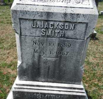 SMITH, J. JACKSON - Baltimore County, Maryland   J. JACKSON SMITH - Maryland Gravestone Photos