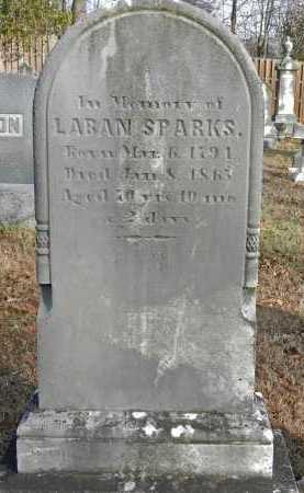 SPARKS, LABAN - Baltimore County, Maryland   LABAN SPARKS - Maryland Gravestone Photos