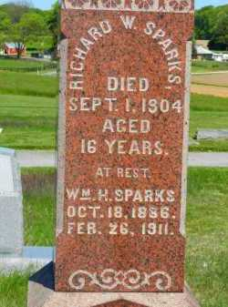 SPARKS, RICHARD W. - Baltimore County, Maryland | RICHARD W. SPARKS - Maryland Gravestone Photos