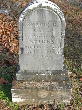 SPARKS, SHADIE G - Baltimore County, Maryland | SHADIE G SPARKS - Maryland Gravestone Photos