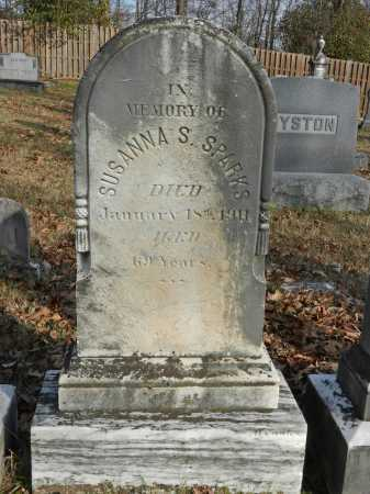 SPARKS, SUSANNA S - Baltimore County, Maryland | SUSANNA S SPARKS - Maryland Gravestone Photos