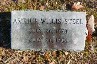 STEEL, ARTHUR WILLIS - Baltimore County, Maryland | ARTHUR WILLIS STEEL - Maryland Gravestone Photos