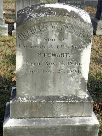 STEWART, CHARLES W - Baltimore County, Maryland | CHARLES W STEWART - Maryland Gravestone Photos