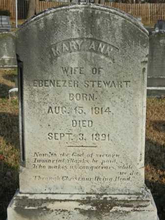 STEWART, MARY ANN - Baltimore County, Maryland   MARY ANN STEWART - Maryland Gravestone Photos