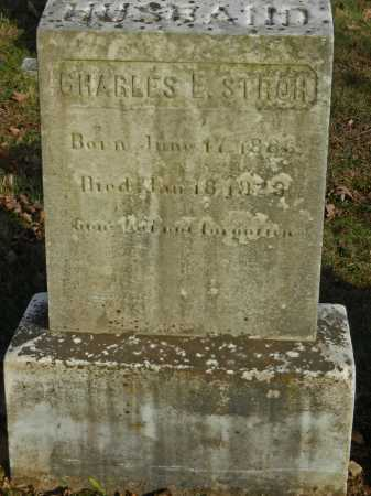 STROH, CHARLES L - Baltimore County, Maryland   CHARLES L STROH - Maryland Gravestone Photos