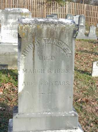 TANSLEY, HENRY - Baltimore County, Maryland | HENRY TANSLEY - Maryland Gravestone Photos