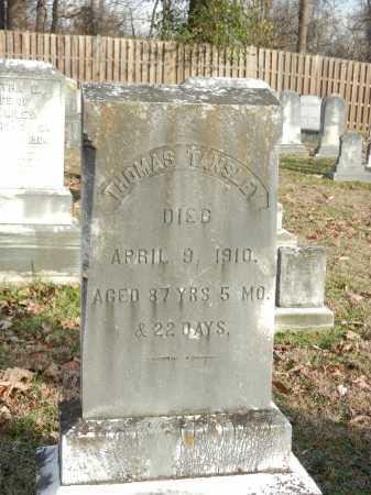 TANSLEY, THOMAS - Baltimore County, Maryland   THOMAS TANSLEY - Maryland Gravestone Photos