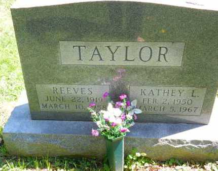 TAYLOR, REEVES - Baltimore County, Maryland | REEVES TAYLOR - Maryland Gravestone Photos