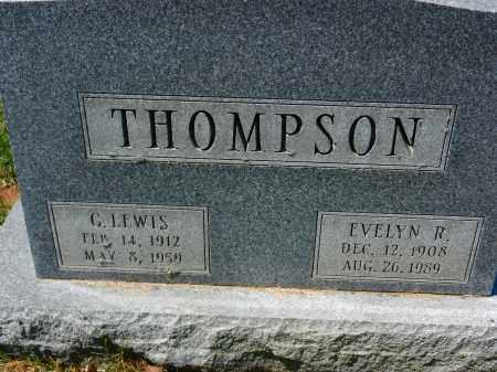 THOMPSON, C. LEWIS - Baltimore County, Maryland | C. LEWIS THOMPSON - Maryland Gravestone Photos