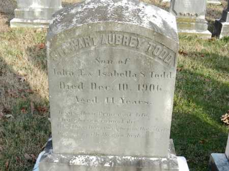 TODD, STEWART AUBREY - Baltimore County, Maryland | STEWART AUBREY TODD - Maryland Gravestone Photos