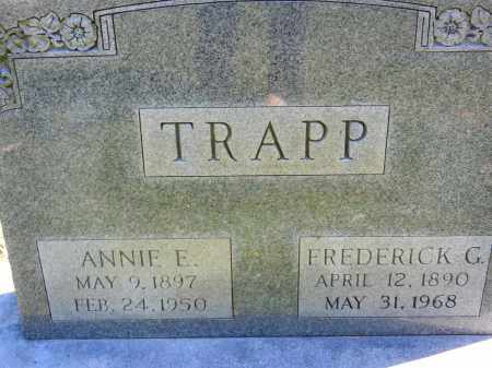 TRAPP, ANNIE E. - Baltimore County, Maryland | ANNIE E. TRAPP - Maryland Gravestone Photos