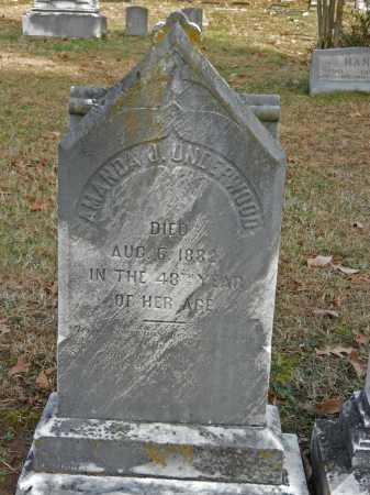 UNDERWOOD, AMANDA J - Baltimore County, Maryland | AMANDA J UNDERWOOD - Maryland Gravestone Photos