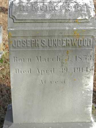 UNDERWOOD, JOSEPH S - Baltimore County, Maryland | JOSEPH S UNDERWOOD - Maryland Gravestone Photos