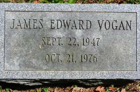 VOGAN, JAMES EDWARD - Baltimore County, Maryland   JAMES EDWARD VOGAN - Maryland Gravestone Photos