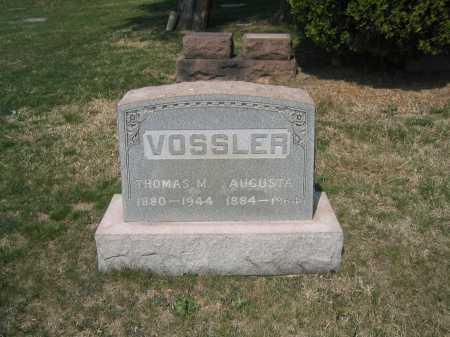 VOSSLER, AUGUSTA - Baltimore County, Maryland | AUGUSTA VOSSLER - Maryland Gravestone Photos