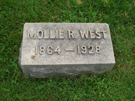 WEST, MOLLIE R - Baltimore County, Maryland | MOLLIE R WEST - Maryland Gravestone Photos