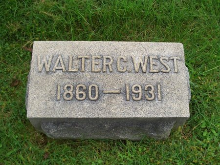 WEST, WALTER C - Baltimore County, Maryland | WALTER C WEST - Maryland Gravestone Photos