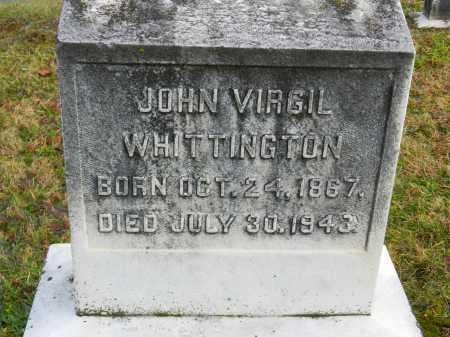 WHITTINGTON, JOHN VIRGIL - Baltimore County, Maryland | JOHN VIRGIL WHITTINGTON - Maryland Gravestone Photos