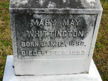 WHITTINGTON, MARY MAY - Baltimore County, Maryland | MARY MAY WHITTINGTON - Maryland Gravestone Photos