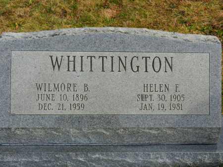 WHITTINGTON, WILMORE B. - Baltimore County, Maryland | WILMORE B. WHITTINGTON - Maryland Gravestone Photos