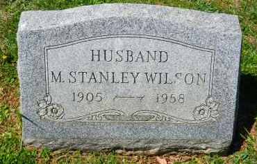 WILSON, M. STANLEY - Baltimore County, Maryland | M. STANLEY WILSON - Maryland Gravestone Photos