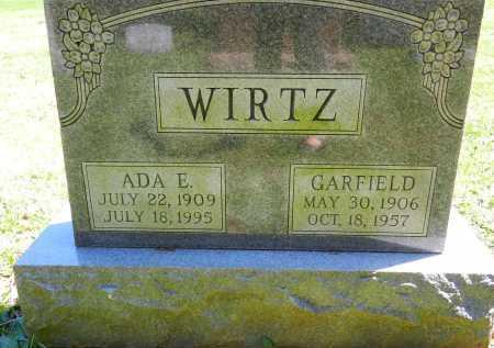 WIRTZ, GARFIELD - Baltimore County, Maryland | GARFIELD WIRTZ - Maryland Gravestone Photos