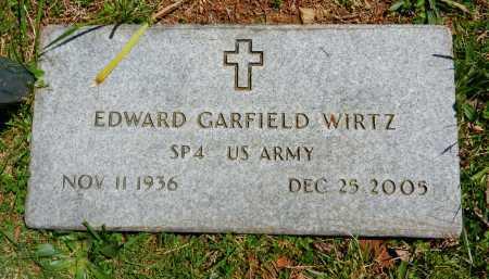 WIRTZ, EDWARD GARFIELD - Baltimore County, Maryland | EDWARD GARFIELD WIRTZ - Maryland Gravestone Photos