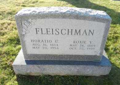 FLEISCHMAN, HORATIO U - Carroll County, Maryland | HORATIO U FLEISCHMAN - Maryland Gravestone Photos