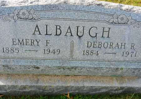 ALBAUGH, DEBORAH R. - Carroll County, Maryland | DEBORAH R. ALBAUGH - Maryland Gravestone Photos