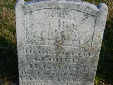 ARMACOST, GEORGE - Carroll County, Maryland | GEORGE ARMACOST - Maryland Gravestone Photos