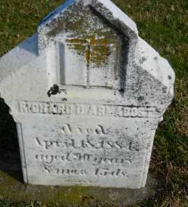 ARMACOST, RICHARD D - Carroll County, Maryland | RICHARD D ARMACOST - Maryland Gravestone Photos