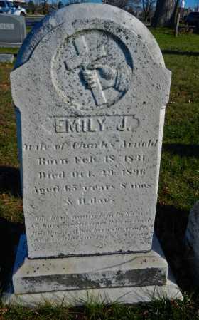BLIZZARD ARNOLD, EMILY JANE - Carroll County, Maryland   EMILY JANE BLIZZARD ARNOLD - Maryland Gravestone Photos