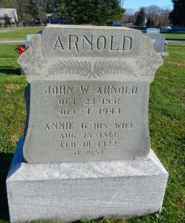 ARNOLD, JOHN W. - Carroll County, Maryland   JOHN W. ARNOLD - Maryland Gravestone Photos