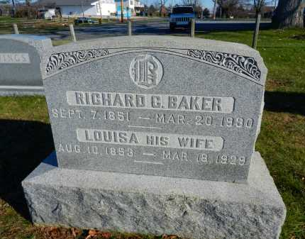 BAKER, LOUISA - Carroll County, Maryland | LOUISA BAKER - Maryland Gravestone Photos
