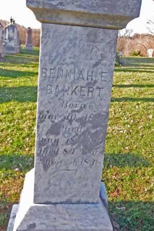 BANKERT, BENNIAH E. - Carroll County, Maryland | BENNIAH E. BANKERT - Maryland Gravestone Photos