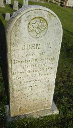 BANKERT, JOHN W. - Carroll County, Maryland   JOHN W. BANKERT - Maryland Gravestone Photos