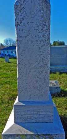 BARNES, MARTHA A. - Carroll County, Maryland | MARTHA A. BARNES - Maryland Gravestone Photos