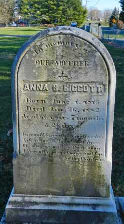 BIGGOTT, ANNA B. - Carroll County, Maryland | ANNA B. BIGGOTT - Maryland Gravestone Photos