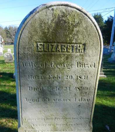 BITZEL, ELILZABETH - Carroll County, Maryland | ELILZABETH BITZEL - Maryland Gravestone Photos