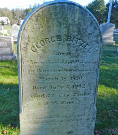 BITZEL, GEORGE - Carroll County, Maryland | GEORGE BITZEL - Maryland Gravestone Photos