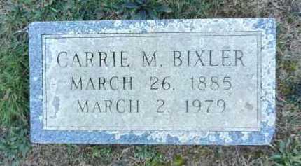 BIXLER, CARRIE M - Carroll County, Maryland   CARRIE M BIXLER - Maryland Gravestone Photos